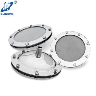 Nano Titanium Flat Type Diffuser with Large Diameter 245 mm