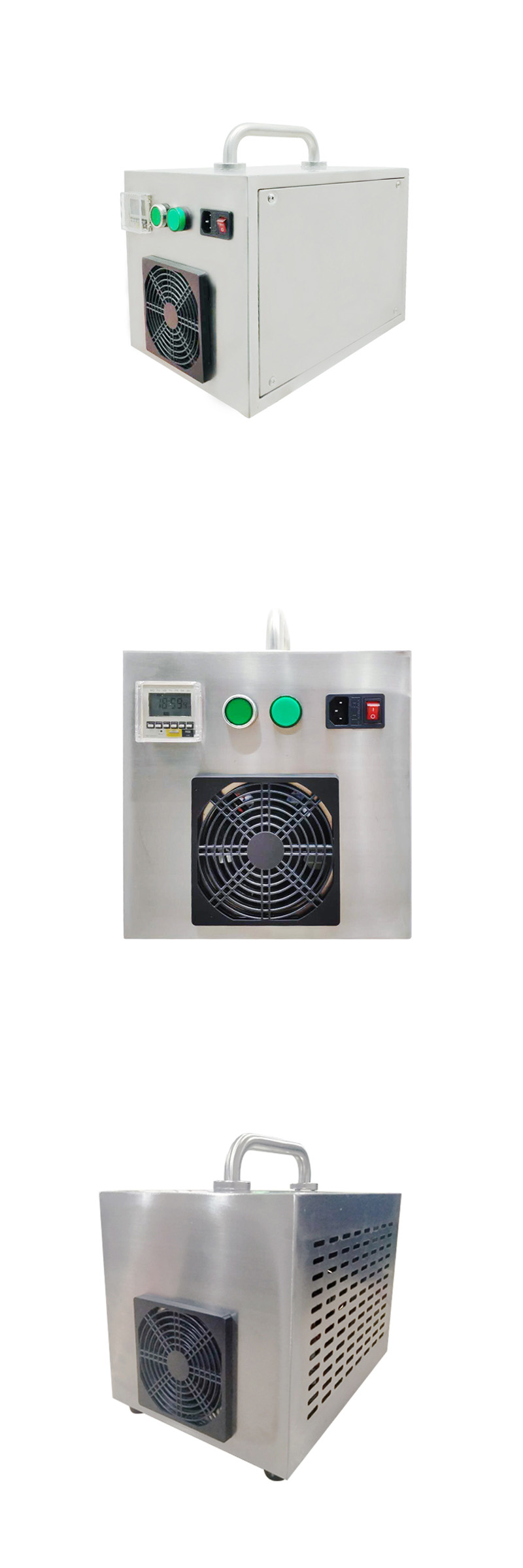 Portable Air Cooled Commercial Ozone Generator For Home