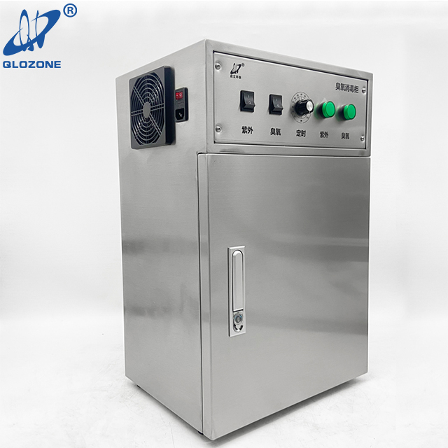 UV Ozone Banknotes Disinfection Cabinet Against Virus
